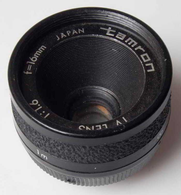 Tamron 16mm f/1.6 TV (35mm interchangeable lens) £20.00