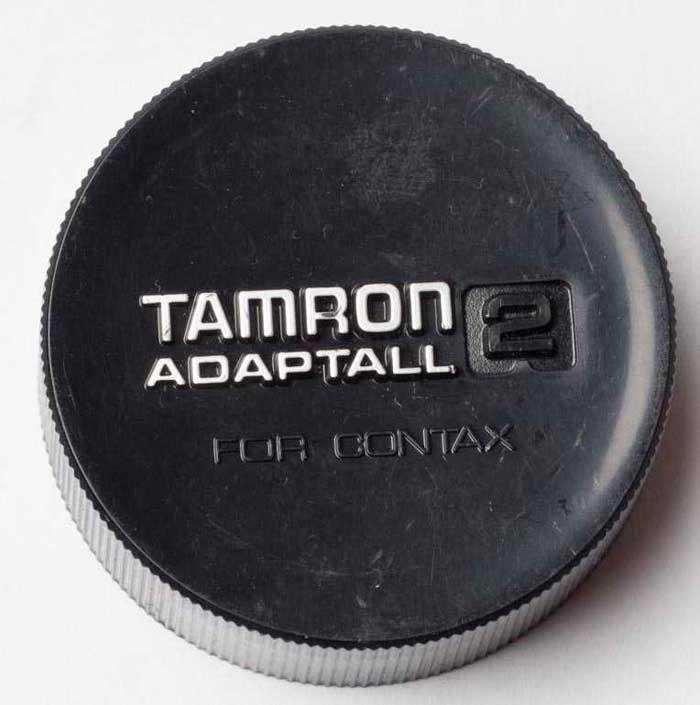 Tamron Contax Yashica CY Rear Lens Cap