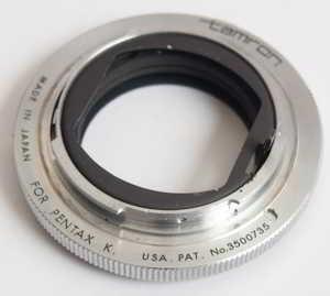Tamron Pentax K Adaptall AD1 Lens adaptor