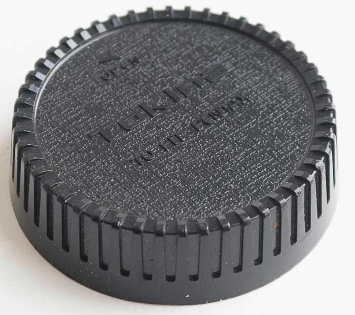 Tokina Minolta MD Rear Lens Cap