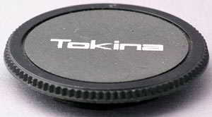 Tokina Minolta MD (Body cap) £5.00