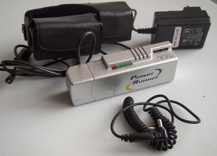 Unbranded Power Runner rechargeable multi-voltage battery pack  (Battery / Charger) £20.00