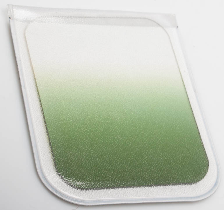 Unbranded Green graduated filter 67x85mm (A-series) £4.00