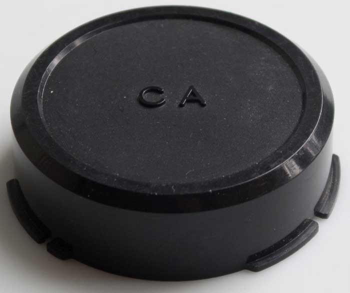 Used Unbranded Canon FD Rear Lens Cap