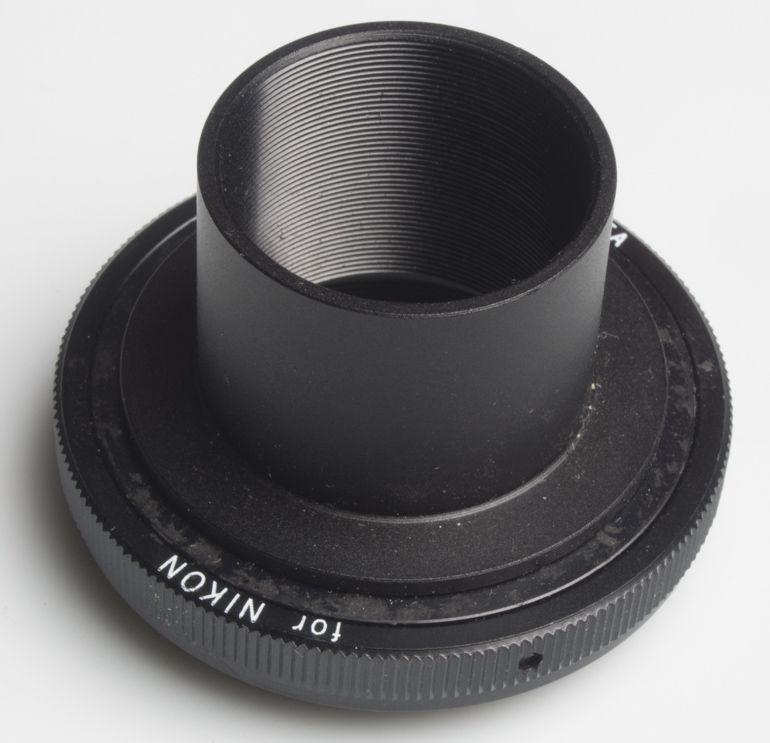 Unbranded Metal telescope adaptor for Nikon AI SLRs  Lens adaptor