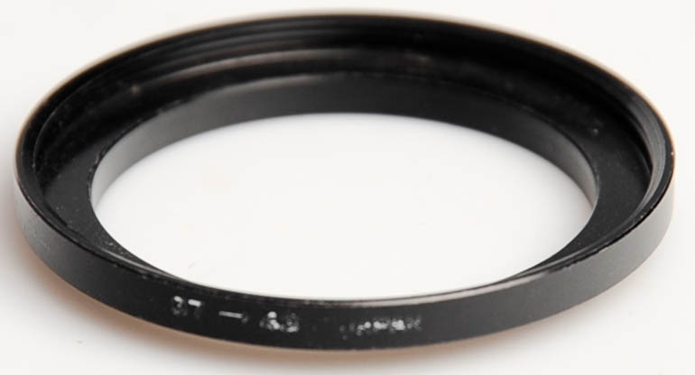 Unbranded 37-43mm  (Stepping ring) £2.00