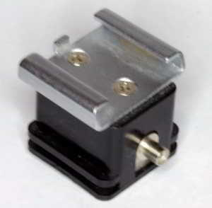 Unbranded hot shoe to PC adaptor (Flash accessory) £5.00