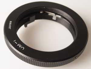 Unbranded Olympus OM T2 Mount Lens adaptor