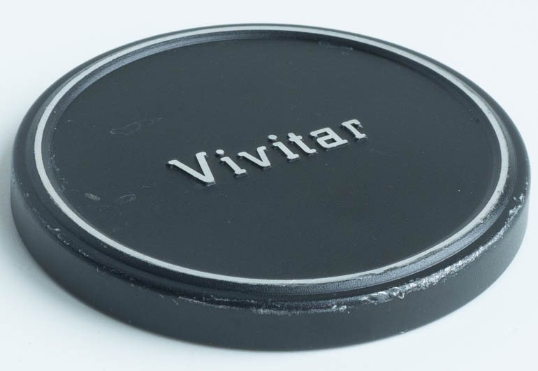 Vivitar 58mm metal push on Front Lens Cap