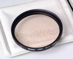 Vivitar 55mm 81A warm Filter